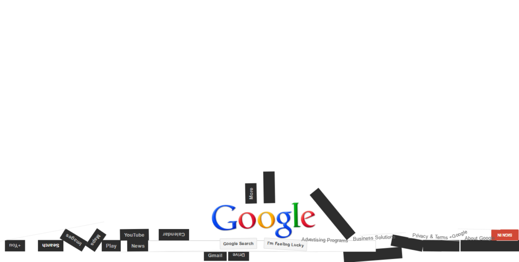 Google Gravity Now