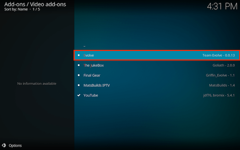 How to Install Evolve Kodi Addon Part 10