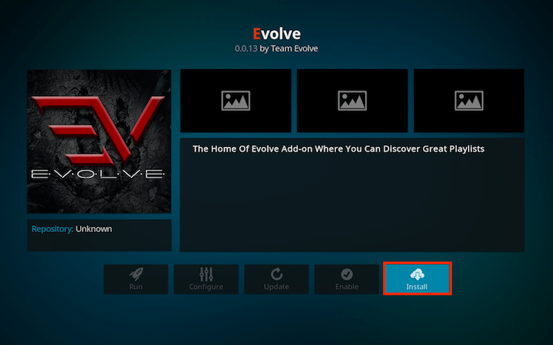 How to Install Evolve Kodi Addon Part 11