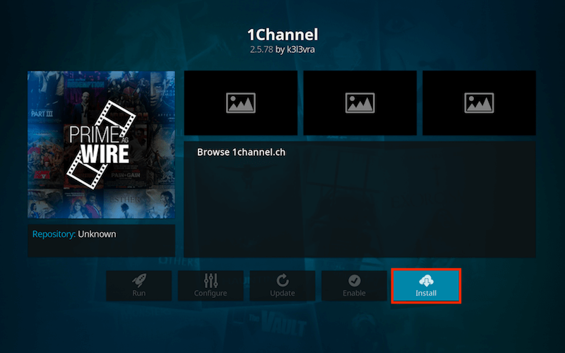Install 1Channel Kodi Addon Step 10
