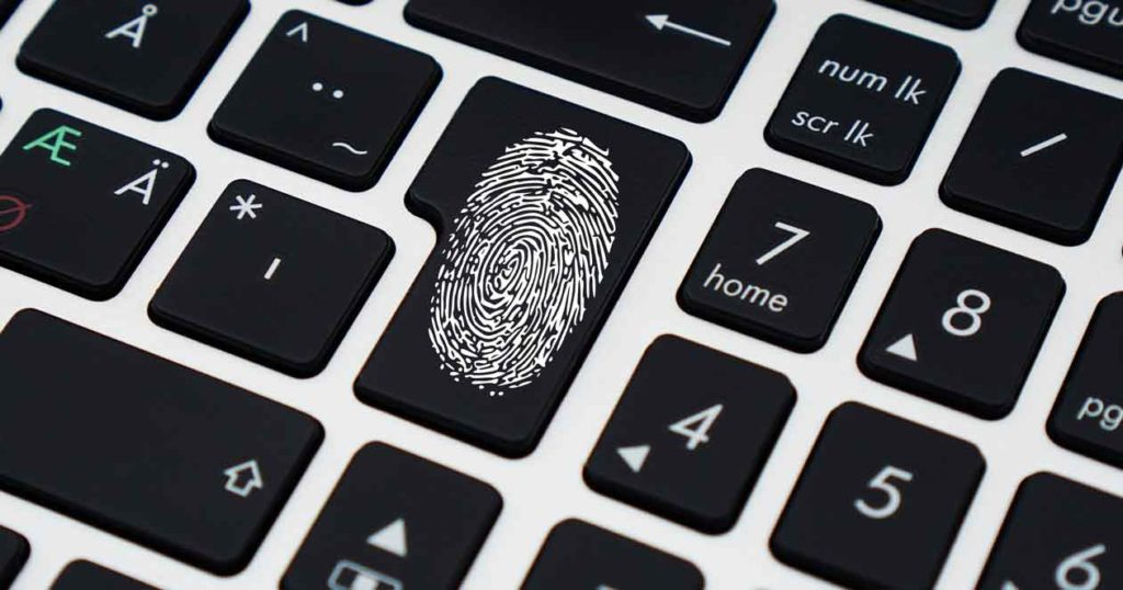 Personal-access-using-fingerprint